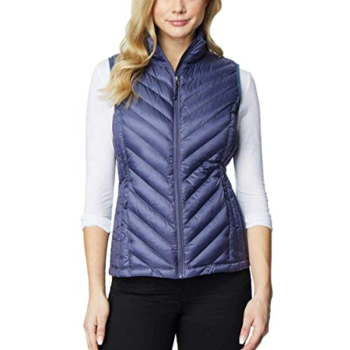 32 DEGREES Heat Womens Packable Vest (Small, Orion Blue)