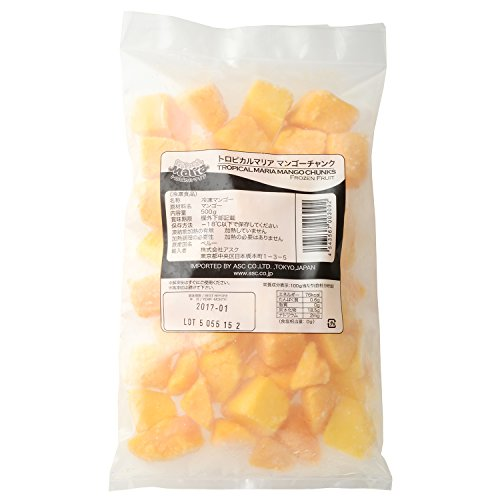 トロピカルマリア 冷凍マンゴー チャンク 500g