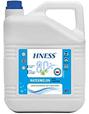 HNESS Instant Hand Sanitizer, Instantly Kills 99.99% Germs, 80% Alcohol Based Sanitizer, Non-Sticky, Skin-Friendly, (5 litre) (WATERMELON)