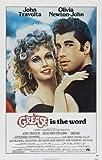 Grease - John Travolta – Film Poster Plakat Drucken Bild