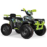 Peg Perego- Quad Polaris Sportsman 850 Lime,...