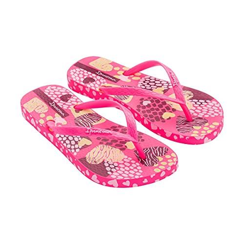 Chanclas de verano para mujer Ipanema Feelings, fabricadas en flexpand de un material 100% vegano y reciclable, ideal para la playa, la piscina y para los paseos de verano - color rosa - 37