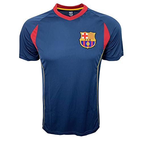 FCB Barcelona Training Jersey, for Kids and Adults, Performance Polyester -Shirts (Adult Medium)