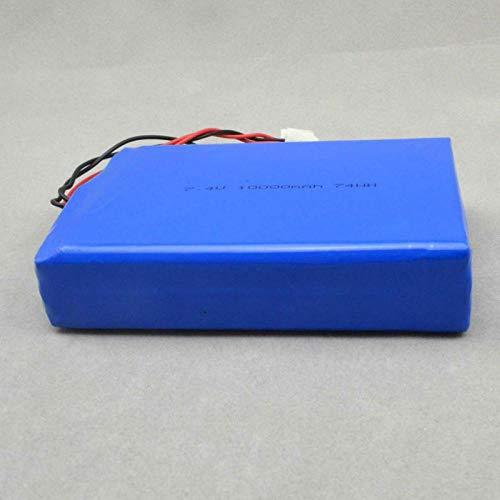N Batería de polímeros de ión Litio 7.4 V 1000mah lipo 10000 Mah 116010 - 2p