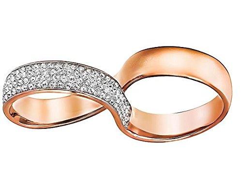 Tamaño del anillo doble Swarovski existen 55 5188400
