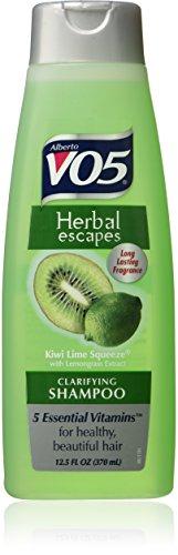 Alberto Vo5 Herbal Escapes Clarifying Shampoo Kiwi Lime Squeeze 5 Essential Vitamins 370ml