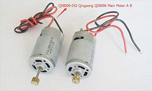 Yoton Accessories QS8006 1.34M Large RC Helicopter Main Motor A B QS8006-010 QS8006 Tail Motor QS 8006-011 Spare Parts - (Color: Main Motor1 A 1B)