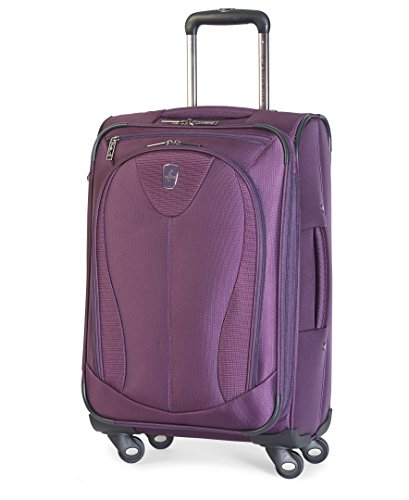 Atlantic Luggage Ultra Lite 3 21' Expandable Spinner, Purple, One Size