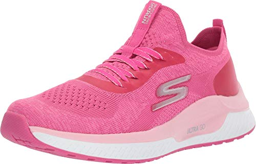 Skechers GO Run Steady Sneaker, Hot Pink, 5 M US