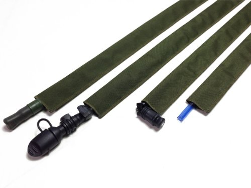 OD Green Hydration Pack Drink Tube Cover by Hydration Tube Covers
