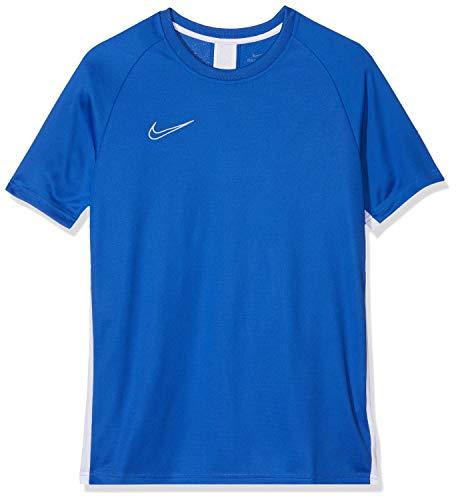 NIKE B NK Dry Acdmy Top SS Camiseta de Manga Corta, Niños, Game Royal/White/White, S