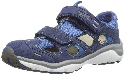 Superfit Unisex Kinder Sport5 Mini Lauflernschuhe, Blau (Indigo Kombi 88), 33