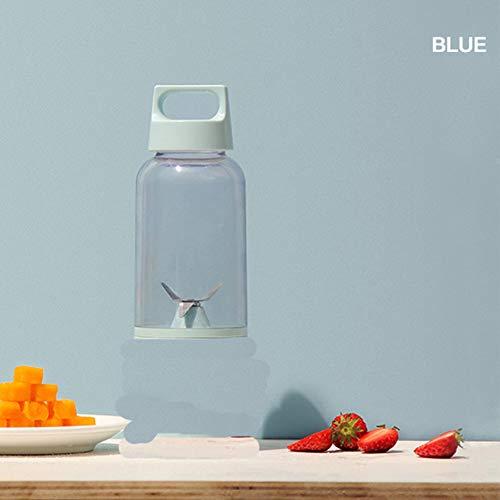 Absir 500 ML Vitamin Juicer Bottle Fruit Blender Cup Body for Juice Squeezing blue