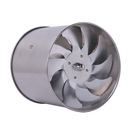 Release Ventilador de Escape de Tubo de Acero Inoxidable de 6 Pulgadas, Ventilador de conducto de Ventana Colgante de Cocina, Ventilador Extractor de Aire