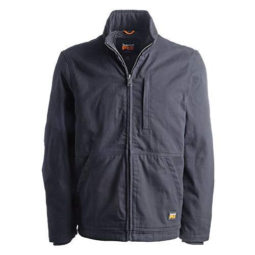 Timberland PRO Herren Lined Canvas Jacket Gritman Gefütterte Jacke aus Leinen, jet black, X-Large