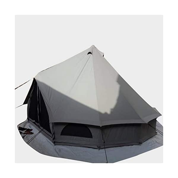 Quest 5-Metre 4 Person Bell Tent 7