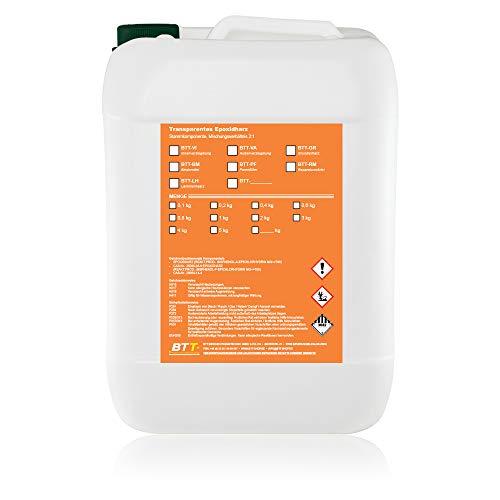 BTT-BG transparente Epoxidharz Bodengrundierung (7,5m²) Haftgrund Bodengrund Grundierung Grundierharz