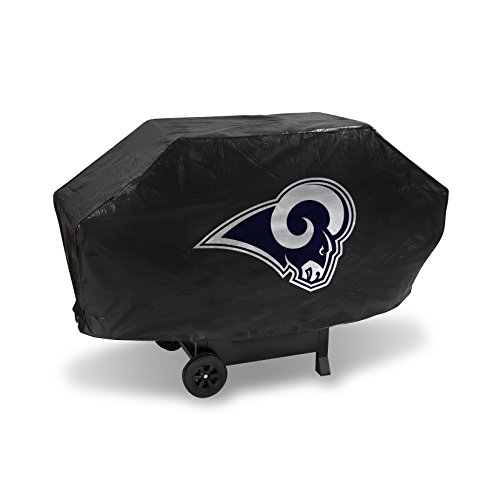 NFL Rico Industries Vinyl Padded Deluxe Grill Cover, Los Angeles Rams