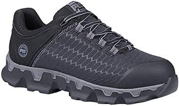 Timberland PRO Men's Powertrain Sport Alloy Toe EH Industrial & Construction Shoe, Black Synthetic, 9 W US