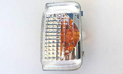 Pro!Carpentis Blinker Spiegelblinker rechts Beifahrerseite kompatibel mit Ducato Boxer Jumper ab Baujahr 2006- klares Glas mit gelbem Reflektor