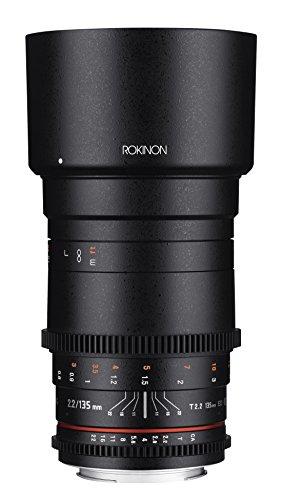 Rokinon Cine DS 135mm T22 ED UMC Telephoto Cine Lens for Canon EF Digital SLR Cameras