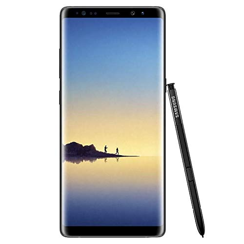 Samsung Galaxy Note 8 64GB Verizon + GSM Unlocked (Midnight Black) (Renewed)