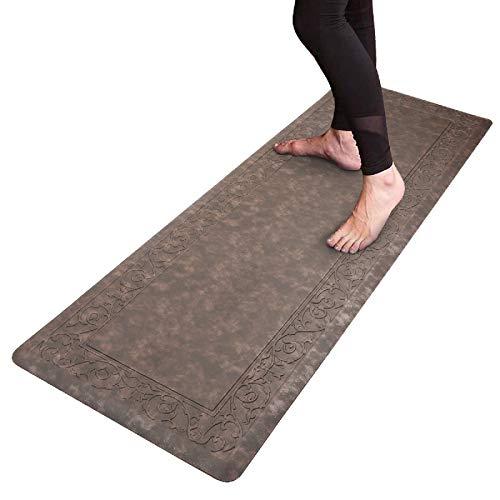 HEBE Kitchen Mat Cushioned Anti Fatigue Floor Mat Waterproof Non-Slip Comfort Standing Mat Ergonomic Kitchen Floor Mat Rug Runner for Office,Sink,Laundry,Desk,20'x60'