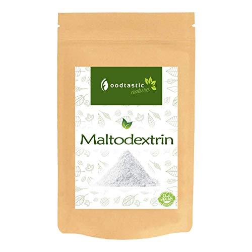 Foodtastic Maltodextrin 4kg / 4000g   wasserlösliches Kohlenhydrate-Pulver   perfekt für die Herstellung eigener Massgainer Shakes zur Gewichtszunahme   dezenter Geschmack   ideal für Hardgainer