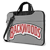 Backwood Logo Classic Laptop Bag-Messenger Shoulder Bag Computer Bag Compatible with 15.6 Inch MacBook Pro MacBook Air Lenovo Acer Asus Dell Lenovo Hp Samsung