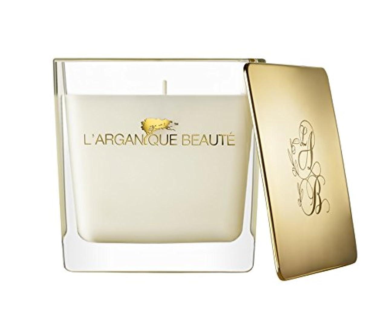 郡委員長下着L 'arganique Beaute Luxury Scented Candle、Perfumed香りSpa Candle?–?Made w/100?%大豆ワックス、鉛フリーWick、純粋なモロッコアルガンオイルEssence?–?For Baths、クリスマス、休日、 14.1oz