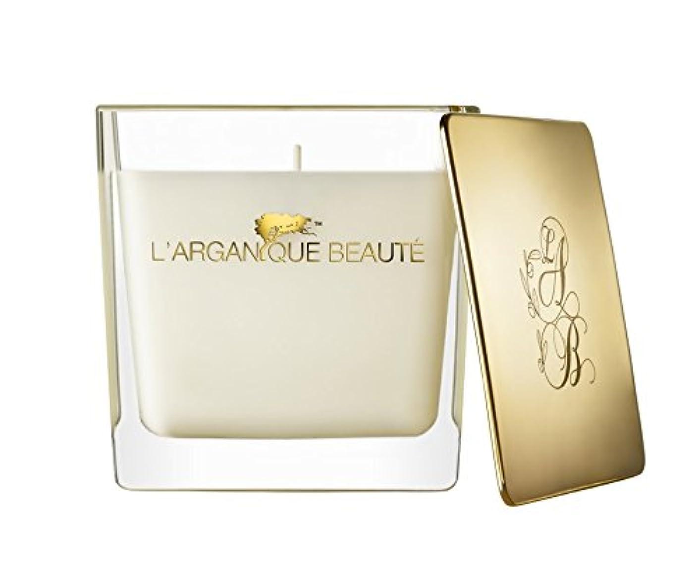 勤勉な居心地の良い一握りL 'arganique Beaute Luxury Scented Candle、Perfumed香りSpa Candle?–?Made w/100?%大豆ワックス、鉛フリーWick、純粋なモロッコアルガンオイルEssence?–?For Baths、クリスマス、休日、 14.1oz