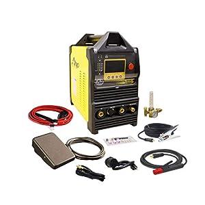 2018 AHP AlphaTIG 200X 200 Amp IGBT AC DC Tig/Stick Welder with PULSE 110v 220v 3 YEARS WARRANTY