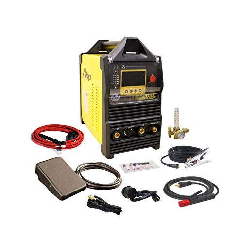 Product Image of the 2018 AHP AlphaTIG 200X 200 Amp IGBT AC DC Tig/Stick Welder with PULSE 110v 220v 3 YEARS WARRANTY