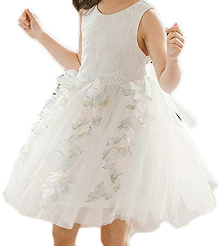 Peuter Baby Meisjes Feestjurk Tule Mouwloos Prinses Tutu Bruiloft Rok Outfit