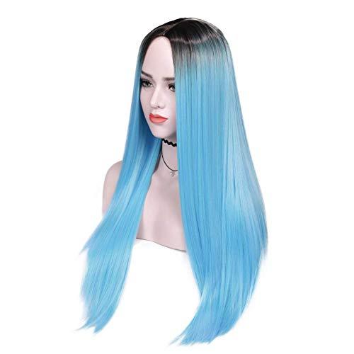 adquirir pelucas azules cortas