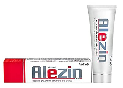 Pharmacy Laboratories Alezin Bed Sores, Abrasions & Skin Chafes Ointment | 50g | Soothes Erythema | Preventive and Comforting Properties | Suitable for Adults & Children | Dermatologically Tested