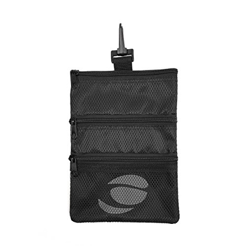 Orlimar Men's Golf Detachable Accessory Pouch, Black