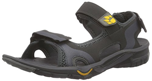 Jack Wolfskin Herren Lakewood Cruise M Sport- & Outdoor Sandalen, Grau (burly yellow 3800), 39.5 EU