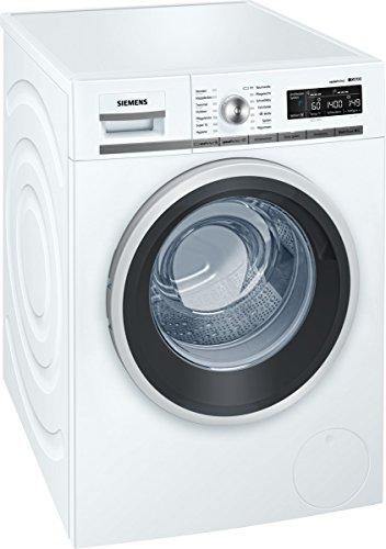 Siemens iQ700 WM14W540 Waschmaschine / 8,00 kg / A+++ / 137 kWh / 1.400 U/min / Schnellwaschprogramm / Nachlegefunktion / aquaStop