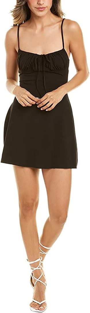 WeWoreWhat Ruched Mini Dress