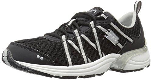 Ryka Women's Hydro Sport Water Shoe, Black/Silver, 8 M US