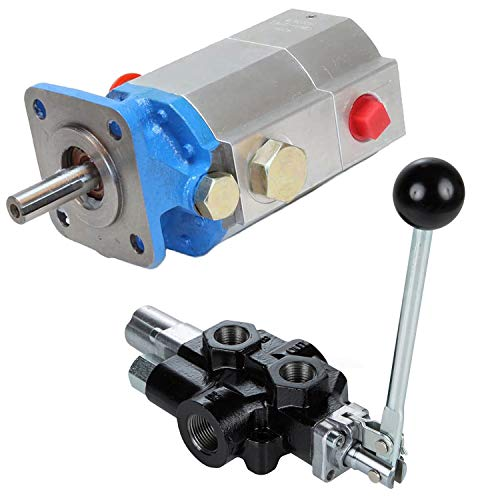 Best Buy! RuggedMade 2 Stage Hydraulic Log Splitter Pump, 18 GPM Directional Control Valve