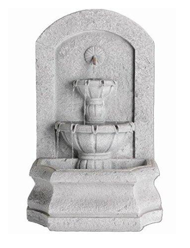 Gardenwize Garden & Outdoor Solar Stone Ornament Statue Water Feature Fountain