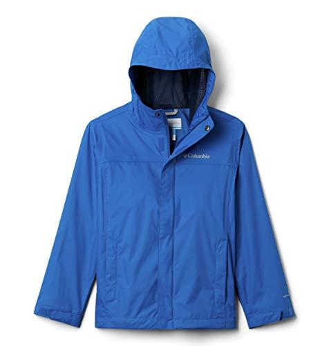 Columbia Boys' Little Watertight Jacket, Bright Indigo, Small