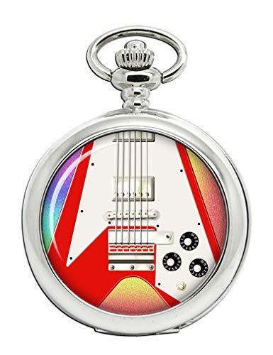 Flying V Guitarra Full Hunter reloj de bolsillo