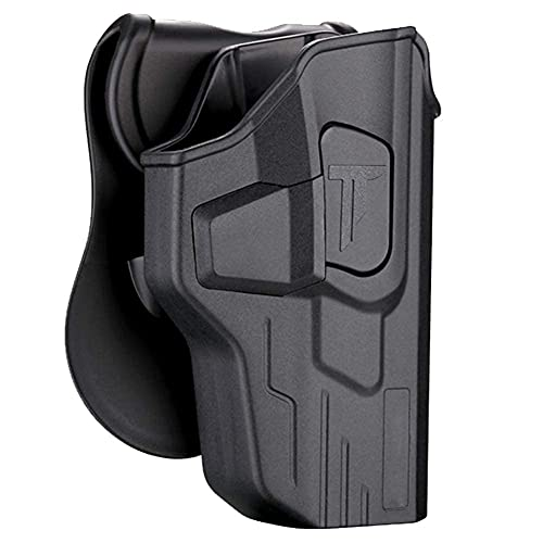 MP Holster Fit Smith & Wesson M&P 9mm/40 Full Size, S&W M&P 9mm/.40 M2.0(Not for Shield 9mm), OWB Open Carry Gun Holster for S&W SD9 VE/SD40 VE, Outside Waistband Paddle Holster - Right Hand