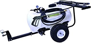 Green Leaf 40 Gallon Trailer Sprayer with Wand, 5 Nozzle Boom and 2.2 GPM Pump (Freight ONLY)