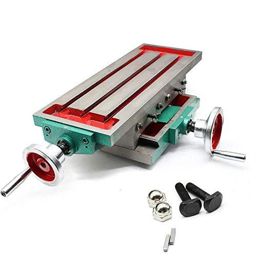 WLGQ Fresadora multifunción Perforación compuesta de Mesa de Trabajo para Taladro de Banco Fresadora de precisión de 2 Ejes