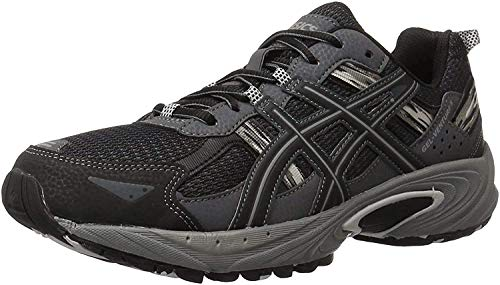 ASICS Men's Gel-Venture 5-M, Black/Onyx/Charcoal, 11.5 4E US