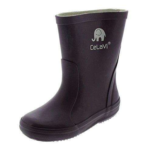 CeLaVi Gummistiefel Rain Boot, BlackBerry Wine, 26 EU